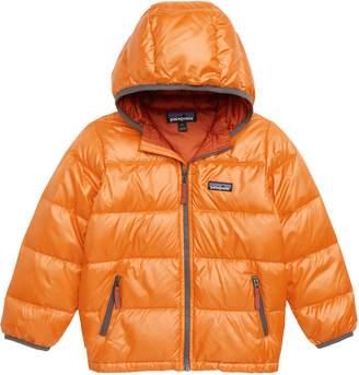 Patagonia Reversible Water Resistant 600-Fill-Power Down Hooded Jacket