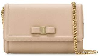 Salvatore Ferragamo Vara bow flap bag