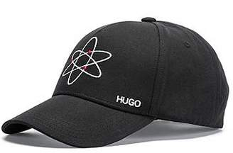 36656d0be96 HUGO BOSS Cotton cap with atom embroidery