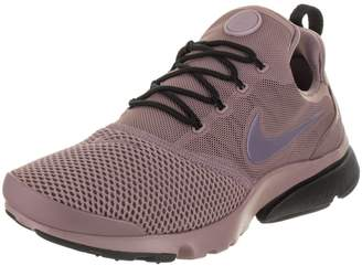 Nike Women's Presto Fly Taupe Grey/Light Carbon Black Running Shoe 8 Women US