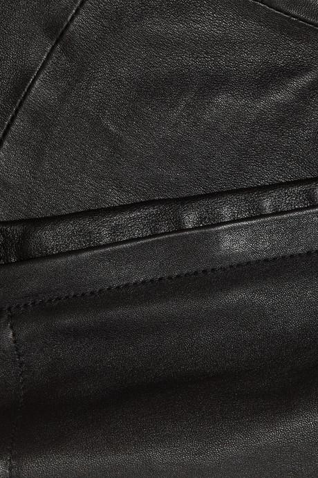 Valentino Leather skinny pants