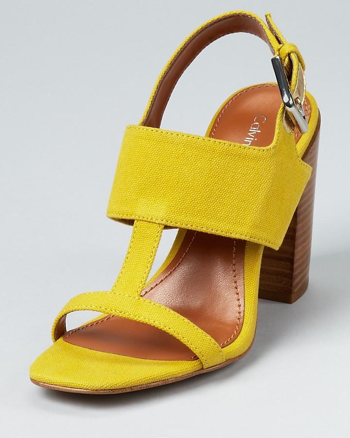 Calvin Klein Sandals - Lanette Chunky Heel