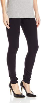 Hue Women's Plus Size Made to Move Double Knit Shaping Legging