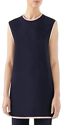 Gucci Women's Cady Sleeveless Tunic Top