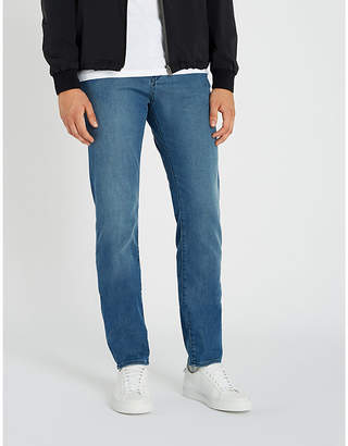 BOSS Straight slim-fit jeans