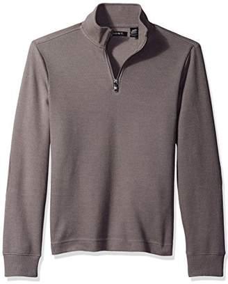 AXIST Men s Quarter Zip Flat Back Rib Sweater f51f4875f