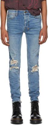 Ksubi Blue Van Winkle No Glory Jeans