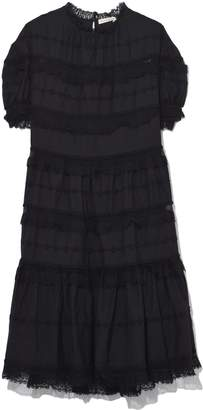 Ulla Johnson Claire Dress in Noir