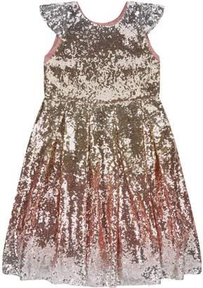 Wild & Gorgeous Moon Festival Ombre Sequin Dress