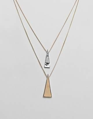 NY:LON layered necklace