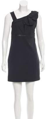Lanvin Bow-Accented Mini Dress