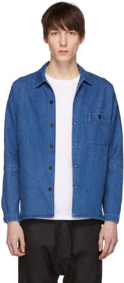 Stephan Schneider Blue Denim Soft Shirt