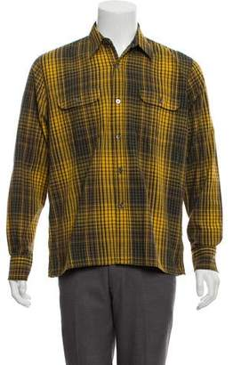 Our Legacy Woven Plaid Shirt w/ Tags