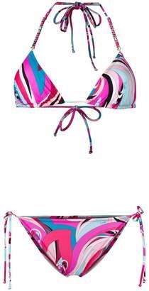 Emilio Pucci triangle bikini