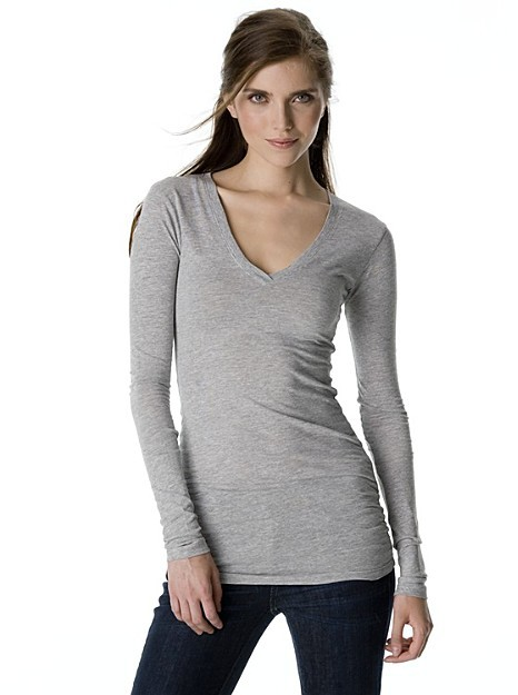 C&C California Long Sleeve V-neck Shirt