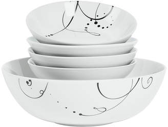 Tabletops Unlimited Tabletops Gallery Pescara 5-pc. Pasta Set