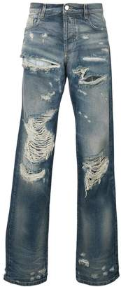 Faith Connexion distressed regular jeans