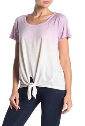 Sanctuary Lou Tie Front Cotton Blend Top (Regular & Petite)