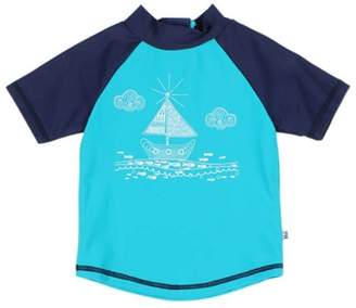 Bebe Toddler Boys Jay Boat Short Sleeve Rashie