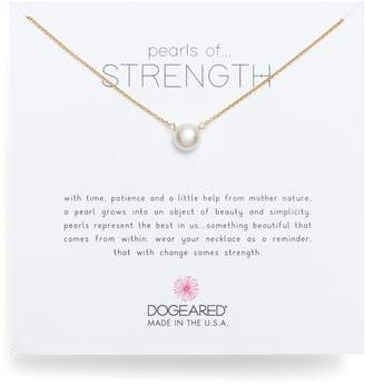 Dogeared Pearls of Strength Pendant Necklace