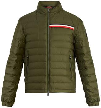 Moncler Edgard quilted down hooded jacket