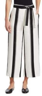 Maje Polson Striped Pants