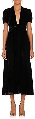 Barneys New York Women's Velvet Maxi Dress