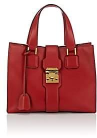 Mark Cross Women's Livingston Leather Tote Bag - Red