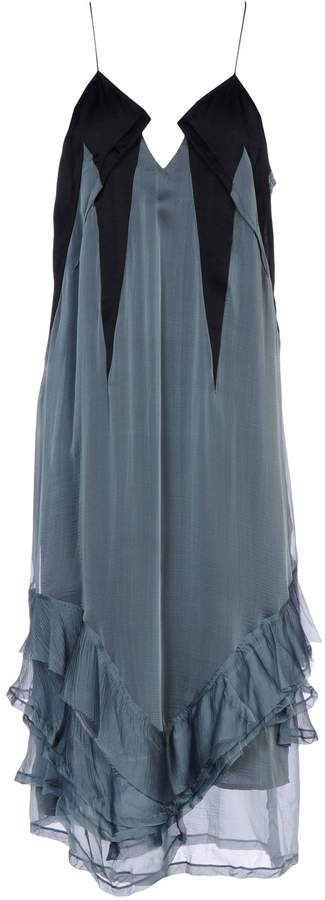 Haider Ackermann 3/4 length dresses - Item 34589735