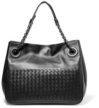 Bottega Veneta - Intrecciato Leather Tote - Black $2,850 thestylecure.com