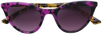 McQ Eyewear tortoiseshell cat eye sunglasses