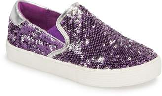 Kenneth Cole New York Kam Lylah Sequin Slip-On Sneaker