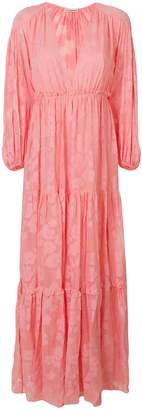 Ulla Johnson floral texture long dress