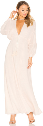 House of Harlow x REVOLVE Leslie Maxi Dress $248 thestylecure.com