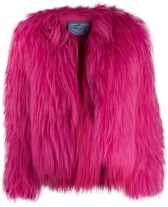 Prada neon jacket