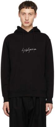 Yohji Yamamoto Black New Era Edition Logo Hoodie