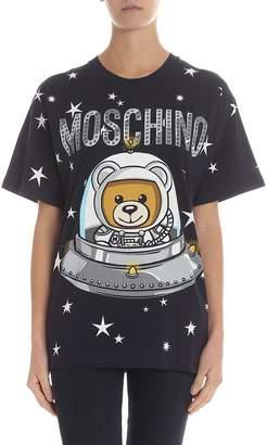 Moschino Ufo Teddy Oversize T-shirt