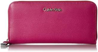 Calvin Klein Mercury Leather Zip Around Wallet