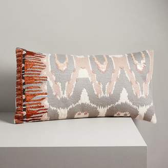 west elm Beaded Ikat Verve Pillow Cover