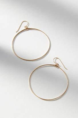 Hello Adorn Circumference Hoop Earrings