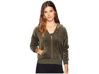 Juicy Couture Track Velour Juicy 00 Sunset Jacket Women's Clothing
