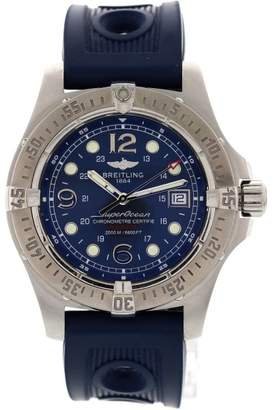 Breitling SuperOcean A17390 Stainless Steel Rubber Strap Men's Watch