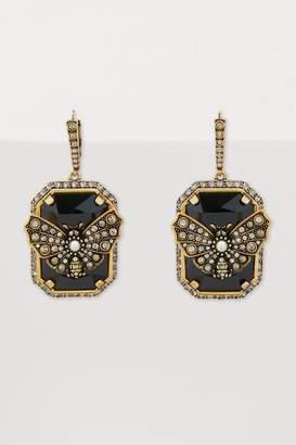 Alexander McQueen Butterfly earrings
