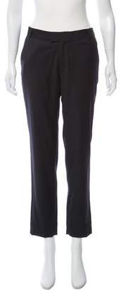 Band Of Outsiders Wool Mid-Rise Pants