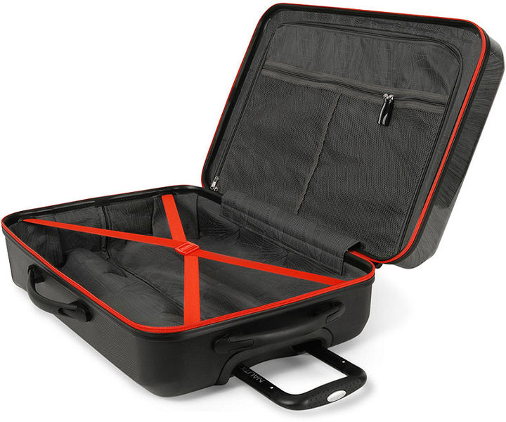 """Nautica CLOSEOUT! Breakwater 21"""" Carry On Hardside Spinner Suitcase"""