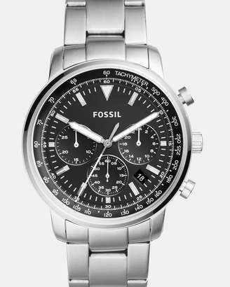 Fossil Goodwin Silver-Tone Chronograph Watch