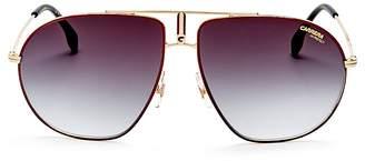 Carrera Aviator Sunglasses, 62mm