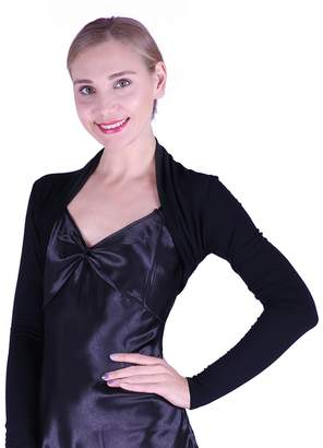 5ad286ff33da at Amazon Canada · HDE Plus Size Womens Bolero Long Sleeve Cardigan Shrug