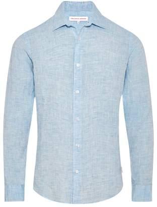 Orlebar Brown Giles Slim-Fit Linen Shirt