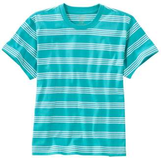 L.L. Bean L.L.Bean Women's Saturday T-Shirt, Crewneck Short-Sleeve Stripe